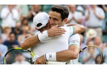 Tenis ¡Histórico! Juan Sebastián Cabal y Robert Farah reinan en el césped sagrado de Wimbledon