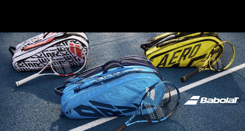 babolat, raquetas, maletines